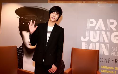 Park Jung Min's Press Conference
