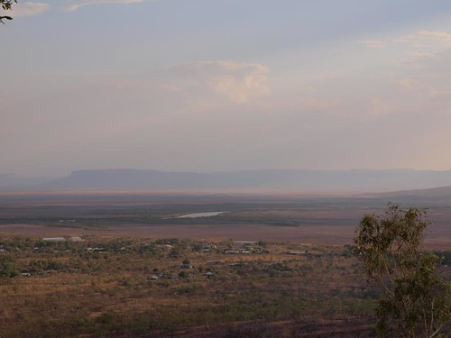 Looking over Wyndham to the Kimberley