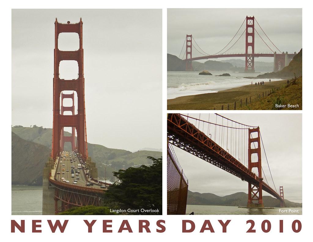 New Years Day 2010 - San Francisco - Golden Gate Bridge