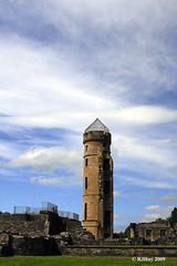 Remains of Eglington Castle - Eglinton Country Park, Irvine, Scotland