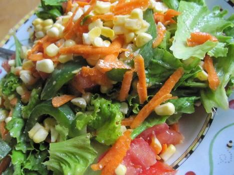 Salad for Dinner.  Again.