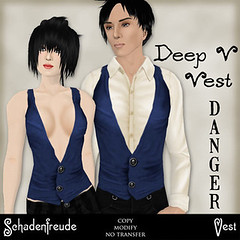 50L Friday - Week 15 - Schadenfreude DANGER Deep V Vest