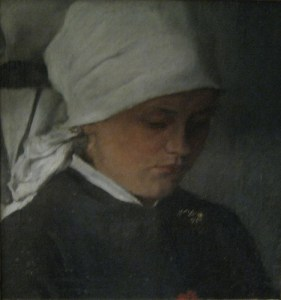 Peasant Girl with White Headcloth