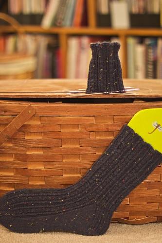 WIP: Retro Rib Socks