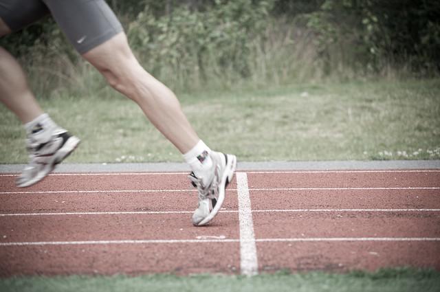 Interval running (race track) 16
