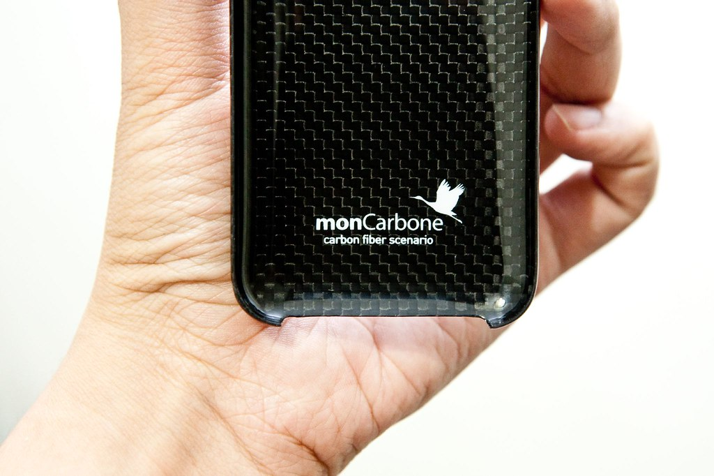 MonCarbone 碳纖維保護殼分享 – 3C 達人廖阿輝