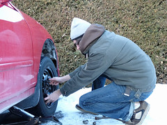Day 27 : Tire repairs