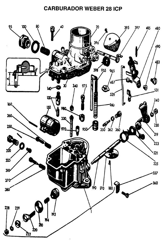 Manual Despiece Fiat 600 R The FIAT Car