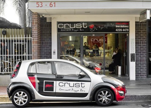 Crust Gourmet Pizza Bar, 53 Crown St Wollongong by you.