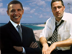 Barack Obama e Lost