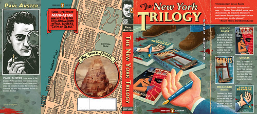 the new york trilogy by paul buckley design.