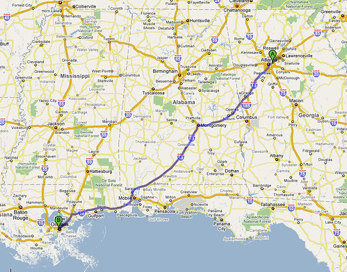 Atlanta → New Orleans