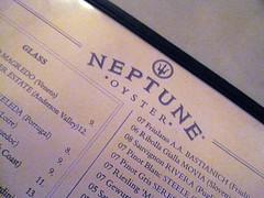 neptune oyster - more logo