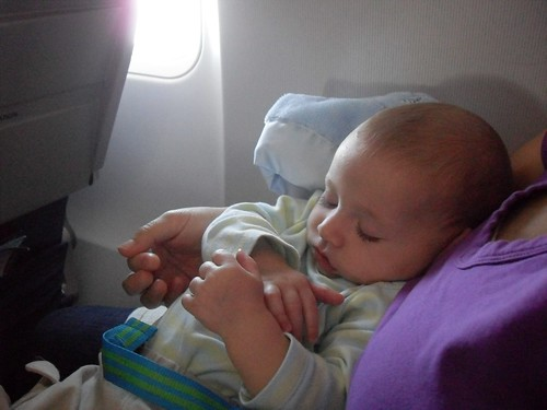 Babys first flight