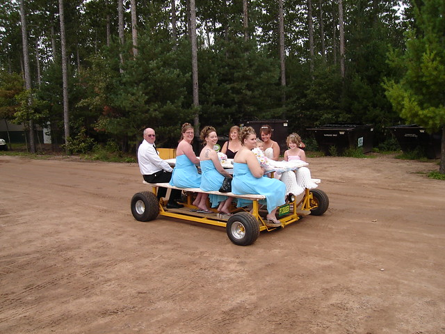 The motorized picnic table up north a.k.a. The PT CRUISER - Photo 62