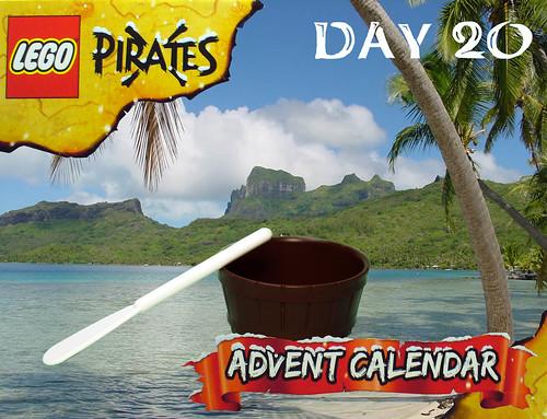 Pirate Advent Calendar Day 20