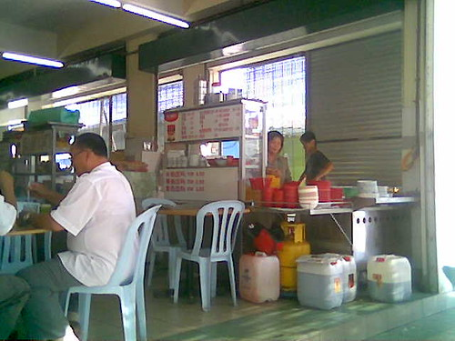 Choon Seng's kampua stall