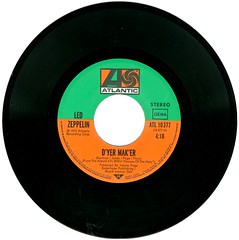 5 - Led Zeppelin - D'yer Mak'er - D - 1973--