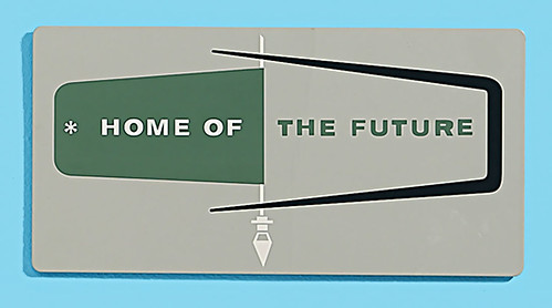 1957 ... House of the Future ! by x-ray delta one.
