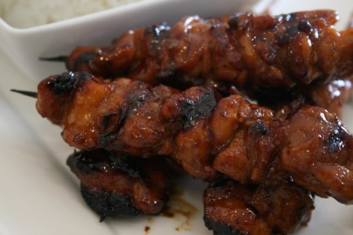 Asian Styled Barbeque Chicken at Unit 8 Cafe