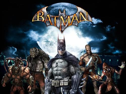 Batman Arkham Villans by bhautikjoshi.