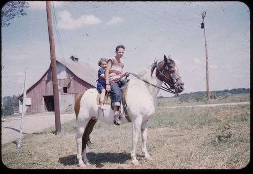 Disgruntled horsey ride
