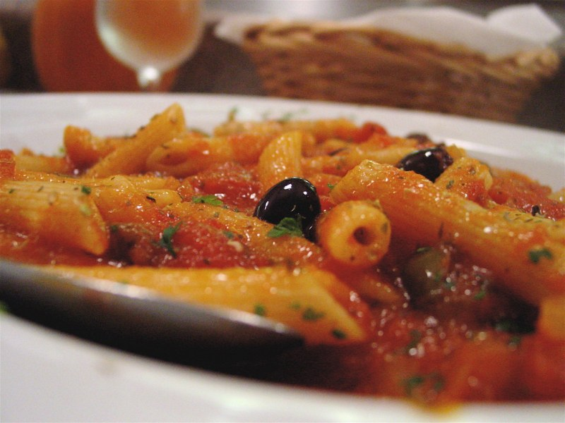 Penne alla Puttanesca by larryjh1234, on Flickr