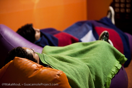 La gente se quedaba Dormida en todas partes ejeje