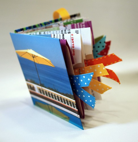 Mini Album from Upcycled Paper