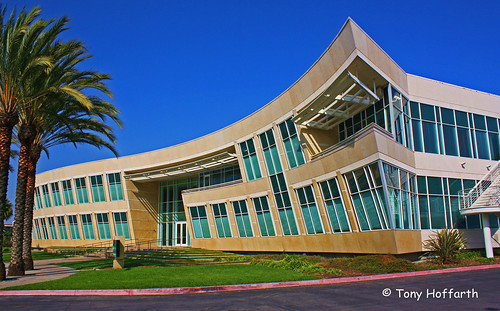 The FAA Credit Union building which stands in for the Crime Lab in CSI: Miami.