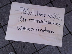 "2009-07-18 ""Was soll Politik""-Aktion..."