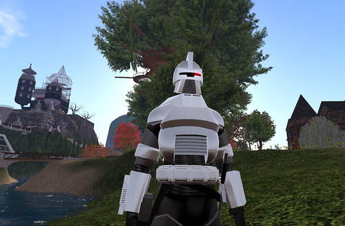 A Cylon in Edloe