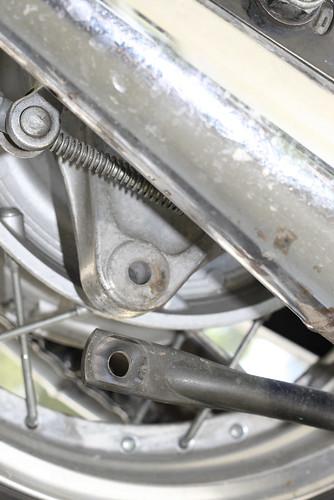 rear brake torque link
