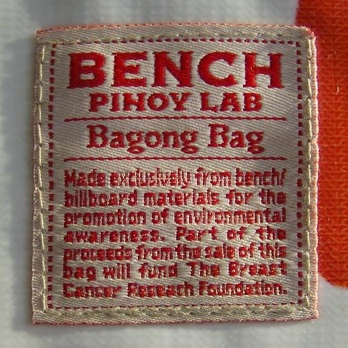 bench/ PINOY LAB BAGONG BAG LABEL