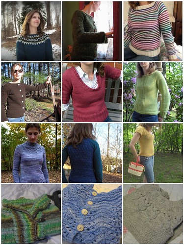 12 sweaters of 2009