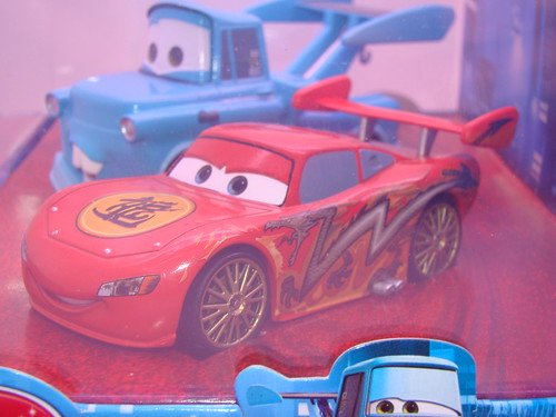 disney store CARS drift mater and dragon mcqueen (4)
