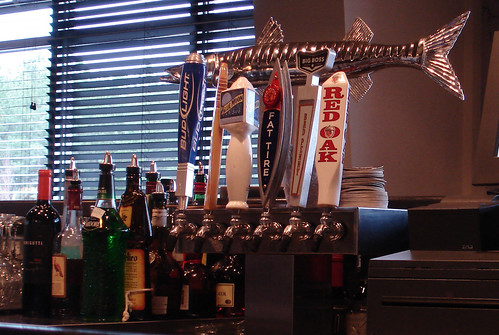 Beers on Tap at Shucker's
