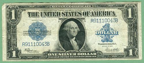 Series 1923 U.S. 1$ Silver Certificate, Friedb...