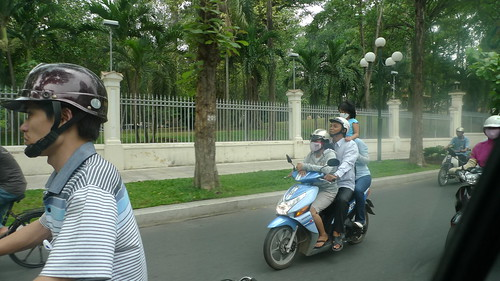 motorbike ride in ho chi minh city