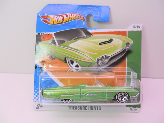 hot wheels treasure hunt '63 t-bird (1)