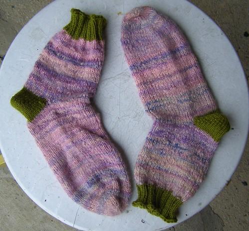 handspun socks!