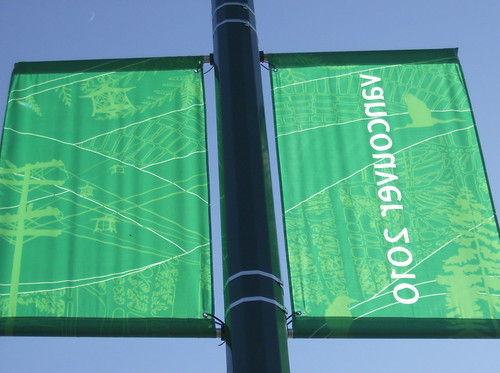2010 VANCOUVER WINTER OLYMPICS | THE LOOK OF THE CITY :: CAMBIE HERITAGE BOULEVARD BANNERS 4