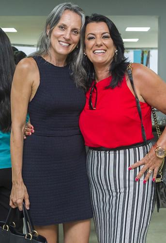 Andrea Paiva e Mara Vilar