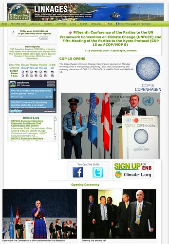 COP 15 and COP-MOP 5 - 7-18 December 2009 - Copenhagen - Denmark (20091208)