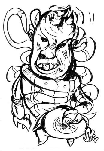 my interpretation of a rick lucey character