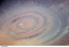 Richat Structure 'Bulls-eye' (NASA, International Space Station Science, 06/26/07)