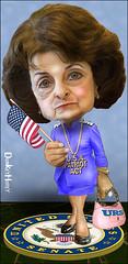 Sen. Dianne Feinstein, Liberal Hawk