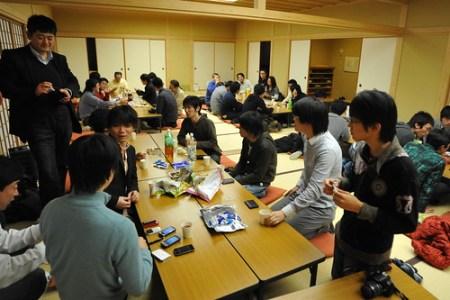福井「アオッサ」の和室会場