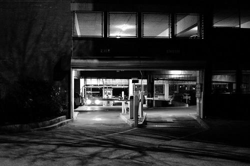 Late Night Parking Garage