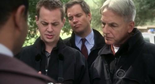 McGee, DiNozzo and Gibbs